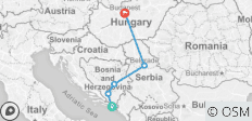 Road to Sziget - 5 destinations