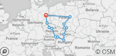 Eastern Road (End Berlin, 13 Days) - 14 destinations