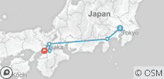 Japan Cherry Blossom Tour - Essence of Spring 6 Days (from Tokyo to Osaka) - 6 destinations