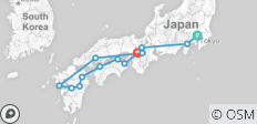 12 Days Grand Japan Cherry Blossom Tour - Odyssey Japan (Tokyo to Osaka) - 13 destinations