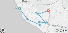 Simply Peru + Amazon Extension (2018) - 14 destinations