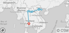 Backroads from Hanoi to Bangkok (2018) - 10 destinations