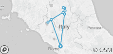 On Foot in Rome and Umbria - 12 destinations