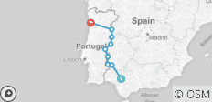 Cycle Seville to Porto (2018) - 9 destinations