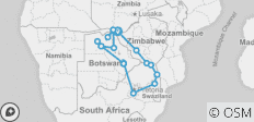 Southern Africa Explorer - 18 destinations