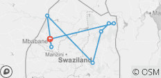 The Kingdom of Swaziland Explored - 8 destinations