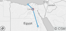 6 Days Cairo / Alexandria / Luxor Tour Package - 9 destinations