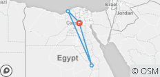 Explore Cairo, Alexandria & Luxor in 5 Days & 4 Nights (from Cairo to Giza) - 4 destinations