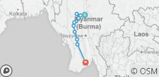 Mystical Irrawaddy 2018/2019 (Start Mandalay, End Yangon, 14 Days) - 16 destinations