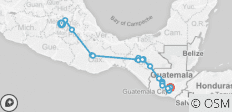 Mexican and Guatemalan Landscapes - 20 destinations