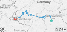Europe\'s Rivers & Castles (Wine Cruise) (Wine Cruise) 2021 Start Luxembourg, End Nuremberg - 14 destinations