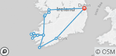 Wild South - Travel Pass - Small Group Tour of Ireland - 14 destinations