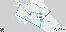 Essential Costa Rica - Package with Guanacaste, Self-drive - 10 destinations