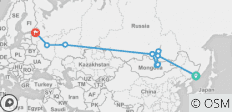 Grand Trans Siberian Railway (departing Vladivostok) - 11 destinations