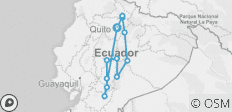 Ecuador 360 - 12 destinations
