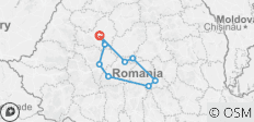 3-day adventure in Transylvania - 9 destinations