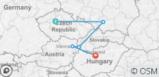 Eastern Lights (from Prague to Budapest) - 5 destinations