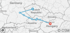 Gems of the Danube with Prague 2019 (Start Prague, End Budapest, 11 Days) - 9 destinations