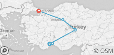 Wonders of Turkey - 9 destinations