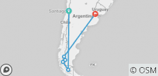 Patagonia Adventure - 6 destinations