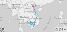 Essential Cambodia & Vietnam 12 Days - 10 destinations