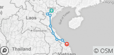 Vietnam Ho Chi Minh Trail Cycling Tour 13 Days - 8 destinations