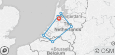 Highlights of the Netherlands & the Beauty of Belgium 2019/2020 (Start Amsterdam, End Amsterdam, 8 Days) - 7 destinations