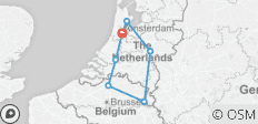 The Charms of Holland & Belgium 2019 (Start Amsterdam, End Amsterdam, 8 Days) - 7 destinations