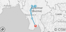 Irrawaddy Discoverer Cruise 14 Days - 10 destinations