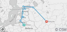 Baltics, Finland and Russia 16 days (Guaranteed Departure) - 12 destinations