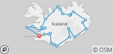 7 Day - Complete Iceland - 30 destinations