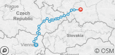 Austria - Vienna to Krakow Bike Tour - 22 destinations