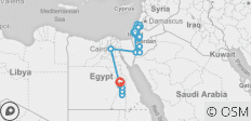 Israel, Jordan and Egypt with Nile Cruise 14 days - 27 destinations