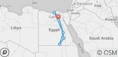 14 day Grand Egypt Tour with 7 nights Nile Cruise - 7 destinations