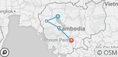Cycle Cambodia- 7 days - 4 destinations