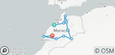 Morocco Encompassed Casablanca - 14 Days - 10 destinations