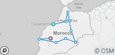 Morocco Encompassed Casablanca - 14 Days - 14 destinations