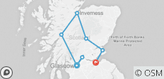 Scottish Escape (from Glasgow to Edinburgh) - 8 destinations