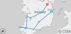 Irish Splendor  (Dublin to Kingscourt) (Standard) - 13 destinations