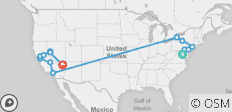 USA Complete East and West Coast (from Washington DC to Las Vegas) - 14 destinations