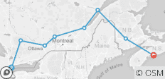 Central to Maritimes - 16 Day Adventure - Central & Eastern Canada - 8 destinations