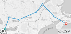 Central to Maritimes - 15/16 Day Adventure - Central & Eastern Canada - 7 destinations