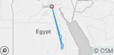 Cairo - Aswan - Luxor 8 days 7 nights with Nile Cruise - 6 destinations