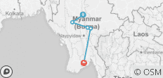 Myanmar Highlights - 5 destinations