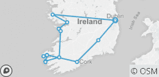 10 Day Southern Ireland  Tour - Small Group Adventure Tour - 14 destinations