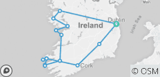 10 Day Southern Ireland  Tour - Small Group Tour - 15 destinations