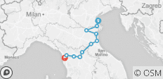 Bicycle Across Italy from Venice to Pisa - Self Guided - 11 destinations