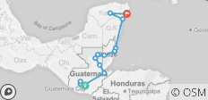 Maya Encounter (Playa Del Carmen to Antigua) - 16 destinations