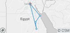 Egypt Deluxe Vacations 12 Days 11 Nights ( Cairo - Aswan - Luxor - Hurghada) - 9 destinations