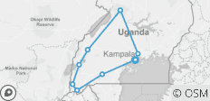 17 Days Best of Uganda - Private Tour for 2 or 4 people - 17 destinations